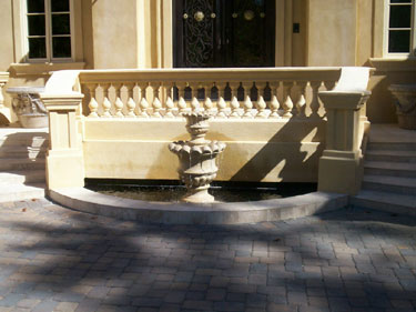 Two Tier Entrance Fountain