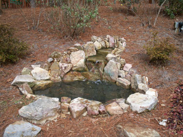 Small Backyard Water Feature