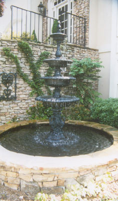 Tiered Water Fountain